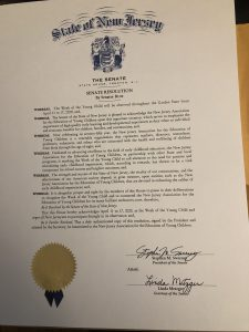 month of the young child proclamation