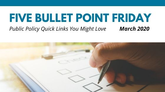 March 2020– 5 Bullet Point Friday