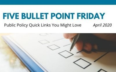 April 2020– 5 Bullet Point Friday