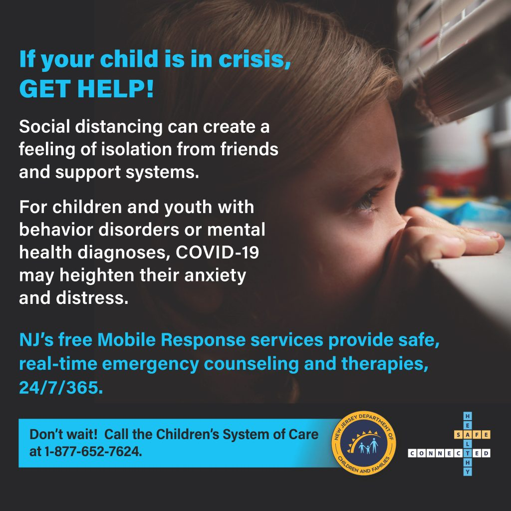 Help for your child in crisis