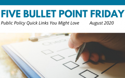 August 2020– 5 Bullet Point Friday