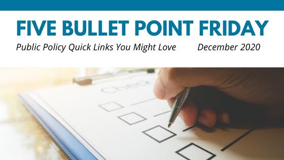 December 2020– 5 Bullet Point Friday