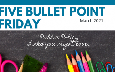 March 2021– 5 Bullet Point Friday