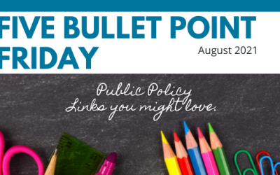 August 2021– 5 Bullet Point Friday