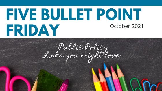 October 2021– 5 Bullet Point Friday